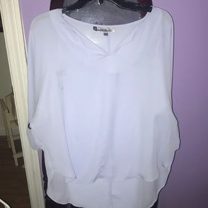 Light lavender Jennifer Lopez Blouse